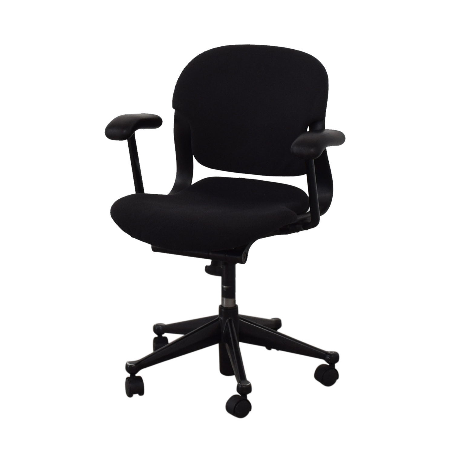 Black Office Chair on Castors / Home Office Chairs