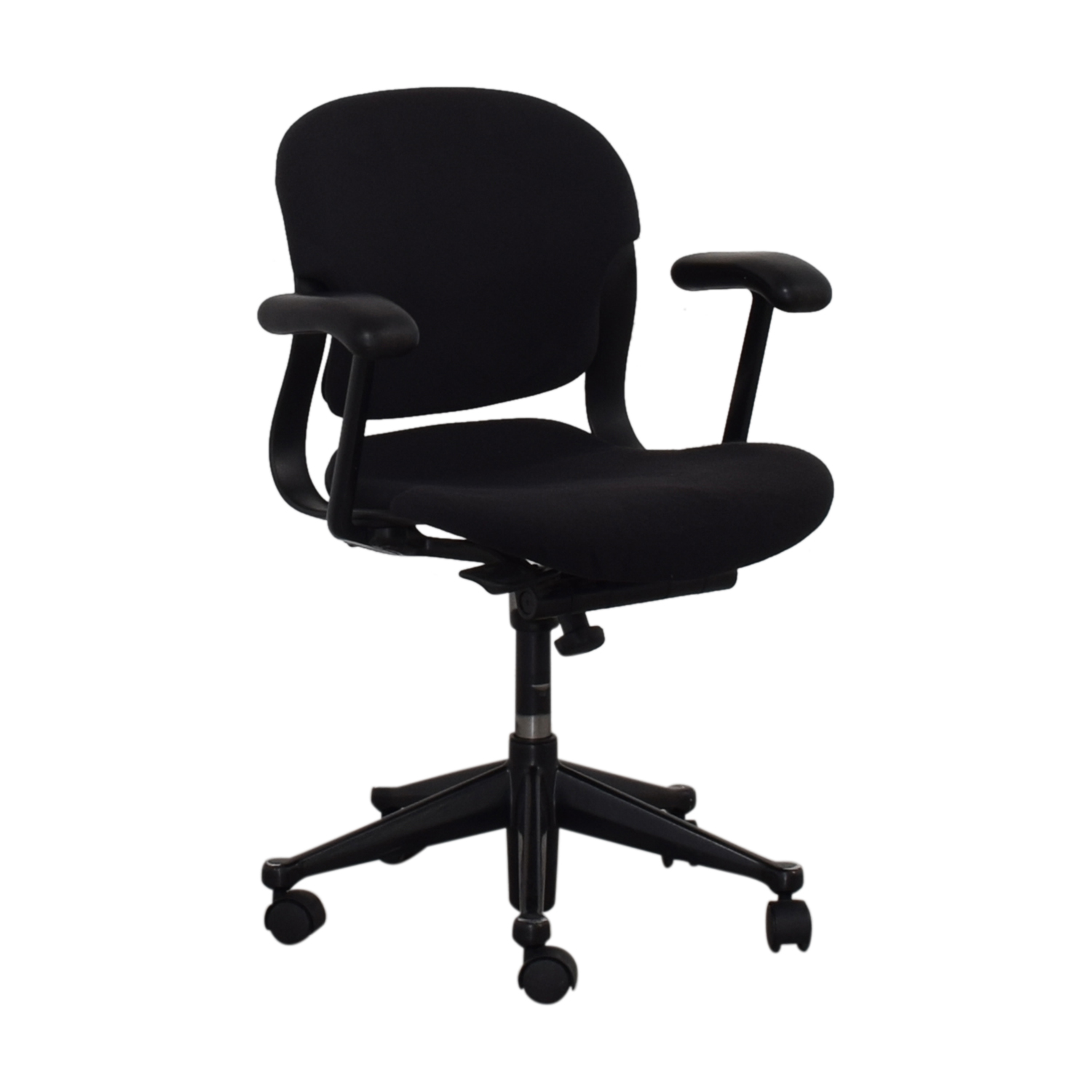 Black Office Chair on Castors nyc