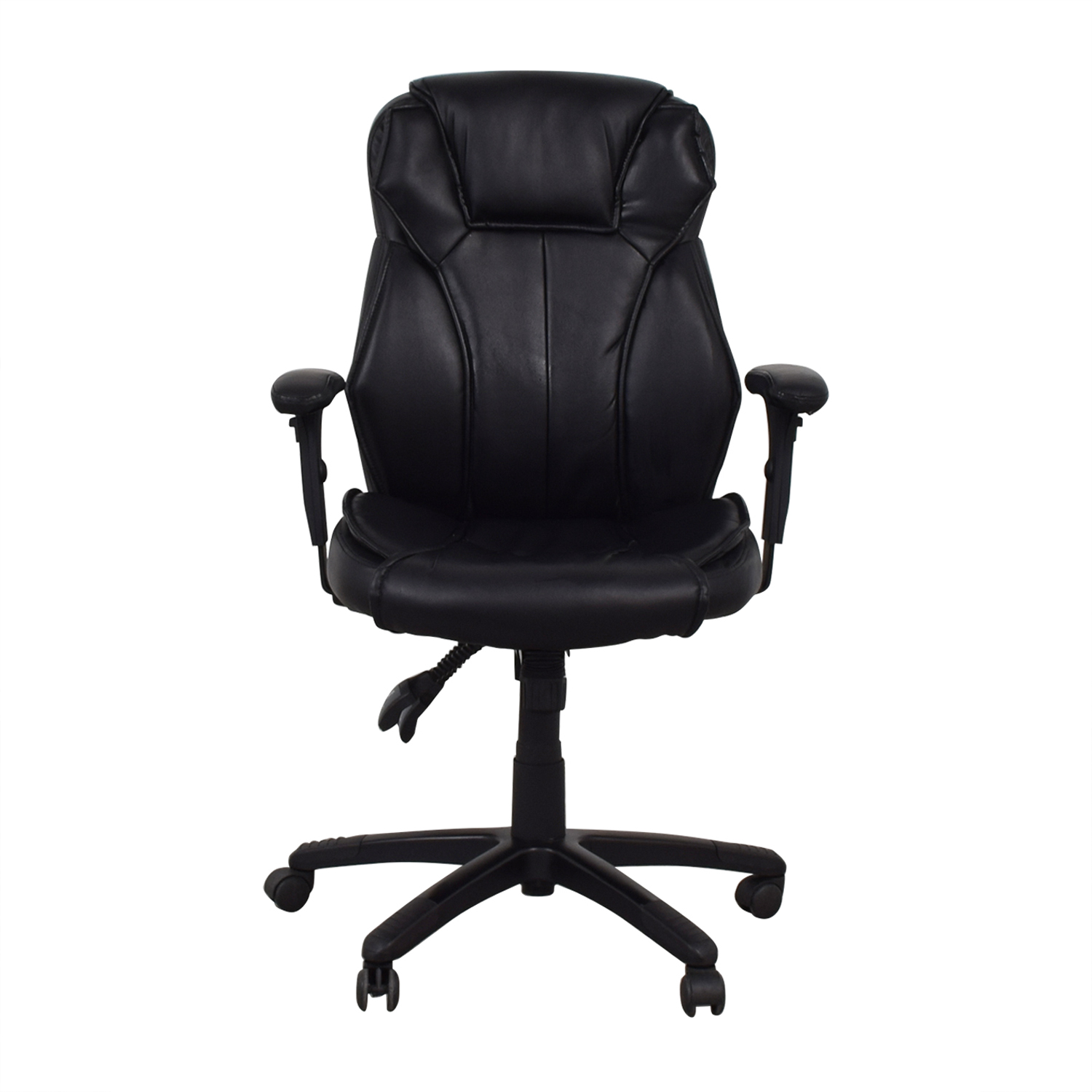 Black Office Arm Chair discount