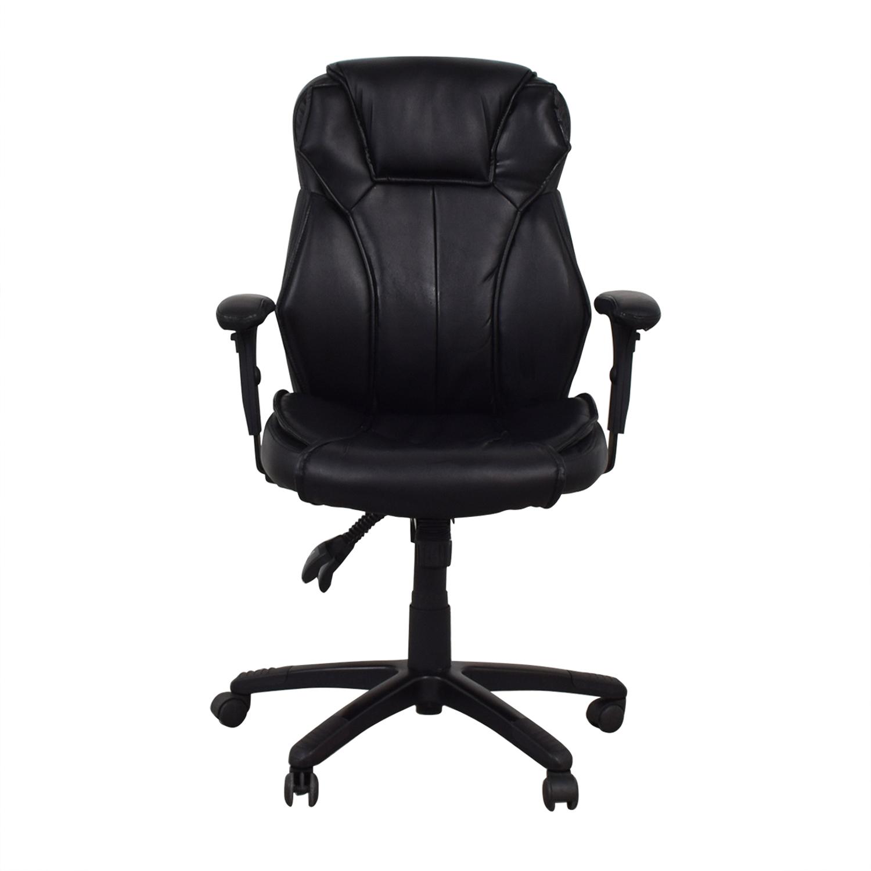 Black Office Arm Chair discount
