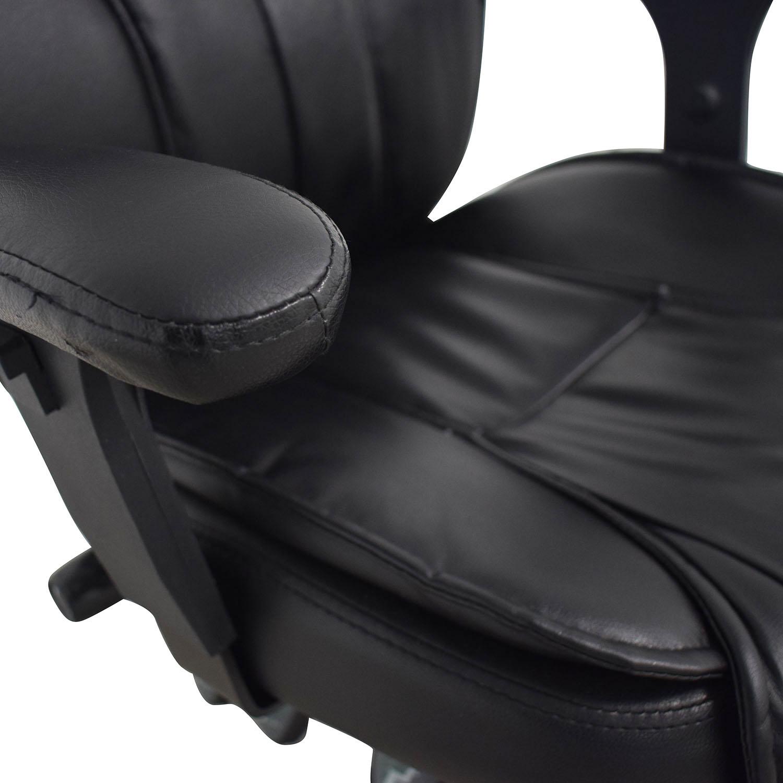buy  Black Office Arm Chair online