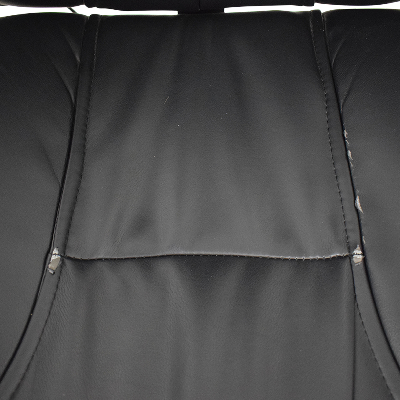 buy  Black Office Arm Chair on Castors online
