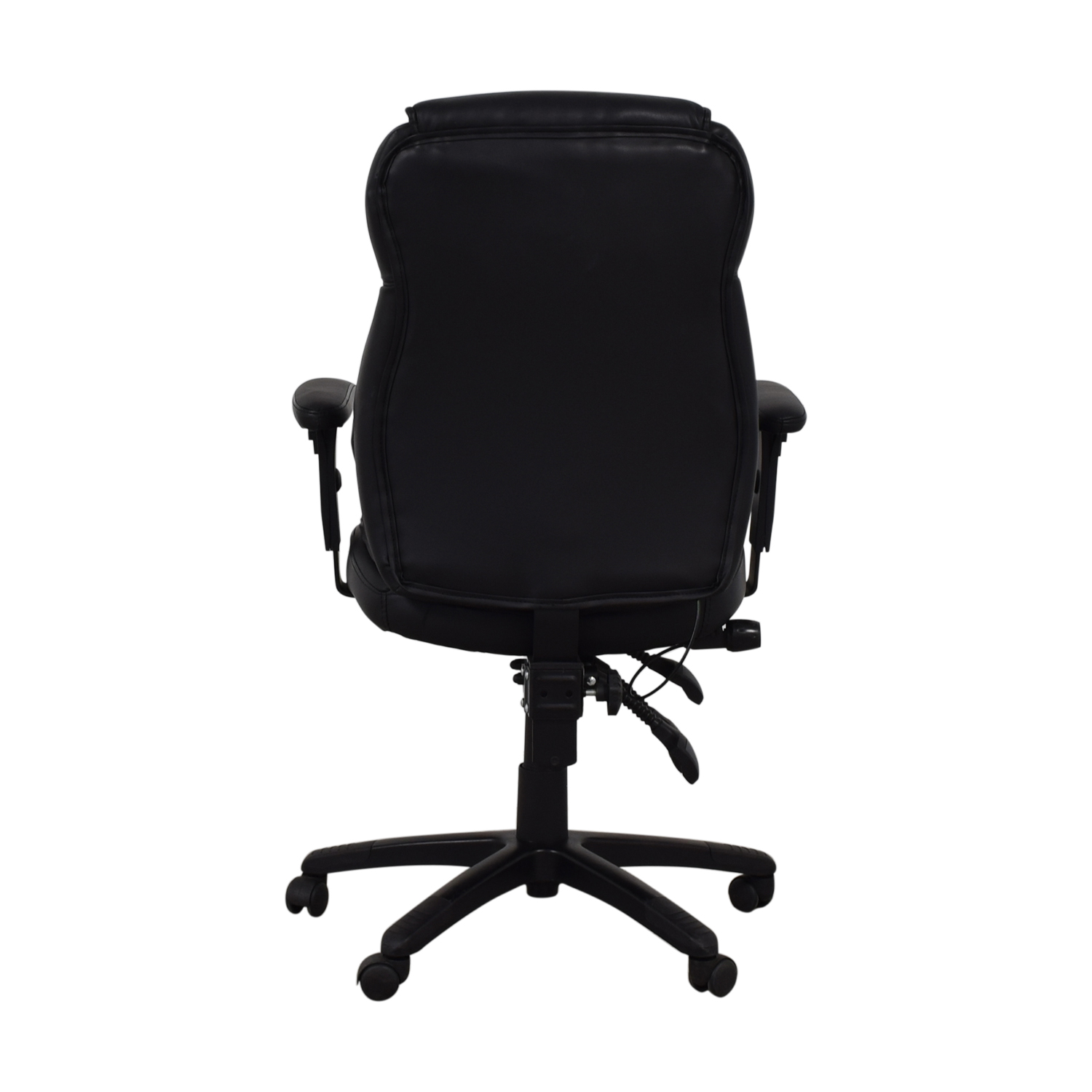 Black Office Arm Chair on Castors nyc