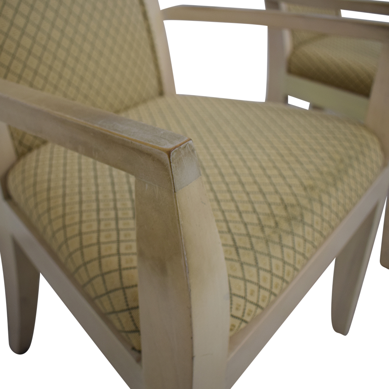 Todd Hase Todd Hase Beige Upholstered Accent Chairs Chairs