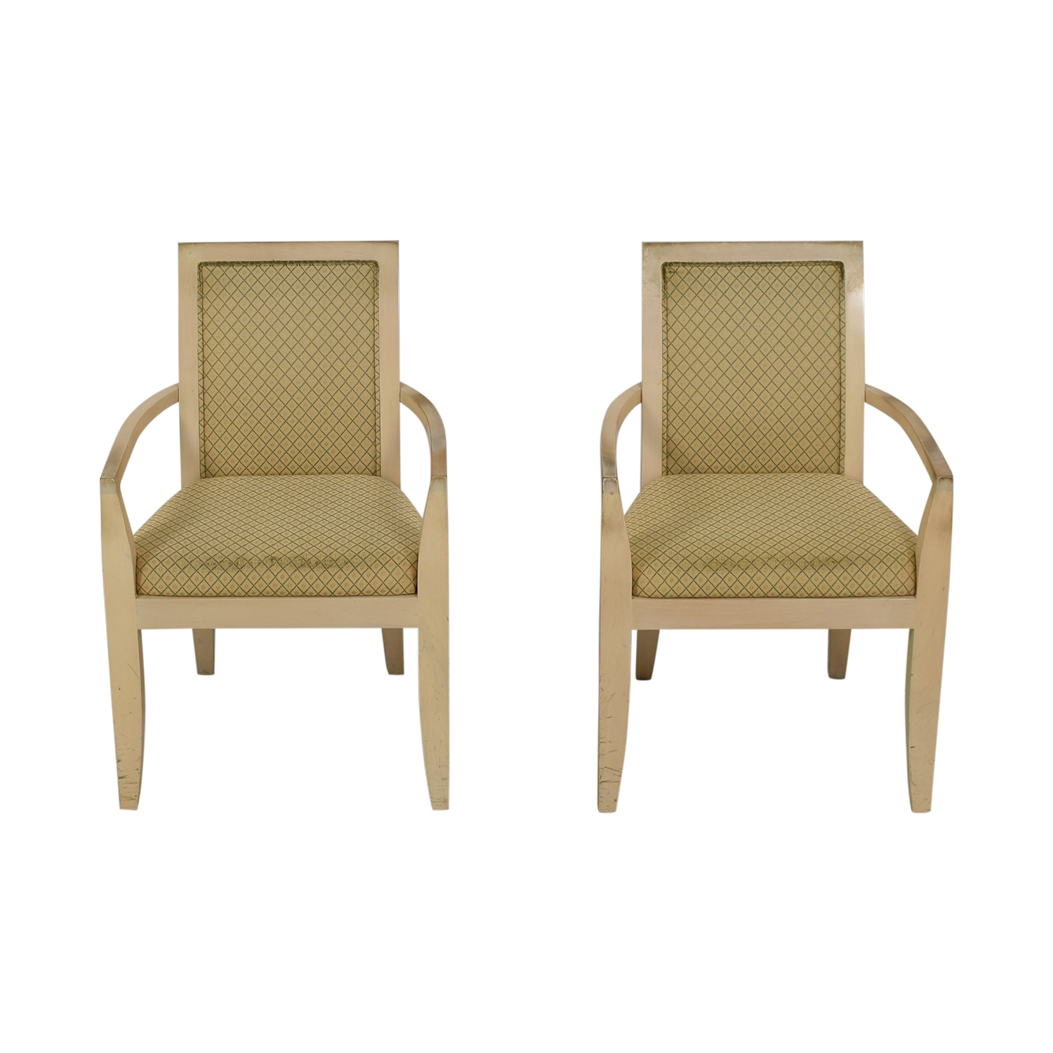Todd Hase Todd Hase Beige Upholstered Accent Chairs coupon