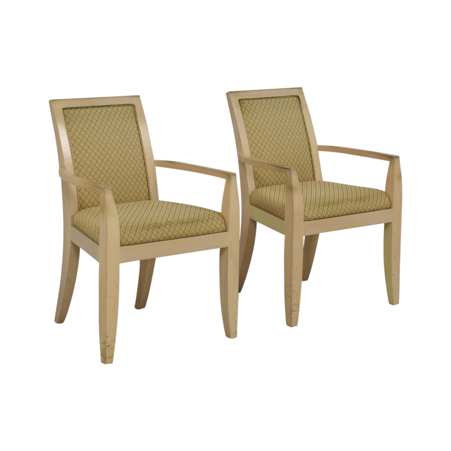 Todd Hase Todd Hase Beige Upholstered Accent Chairs Home Office Chairs