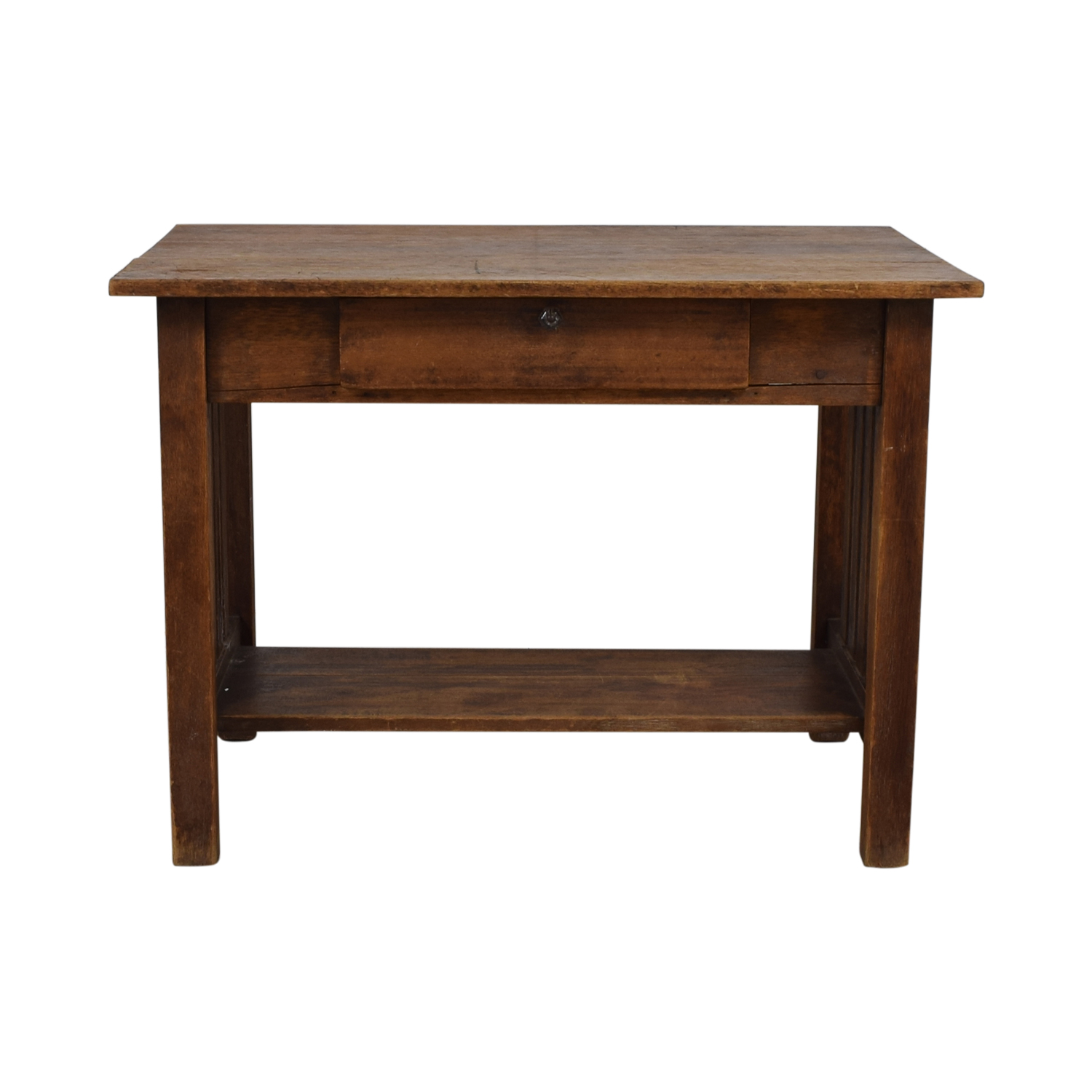 Mission Style Single Drawer Desk on sale