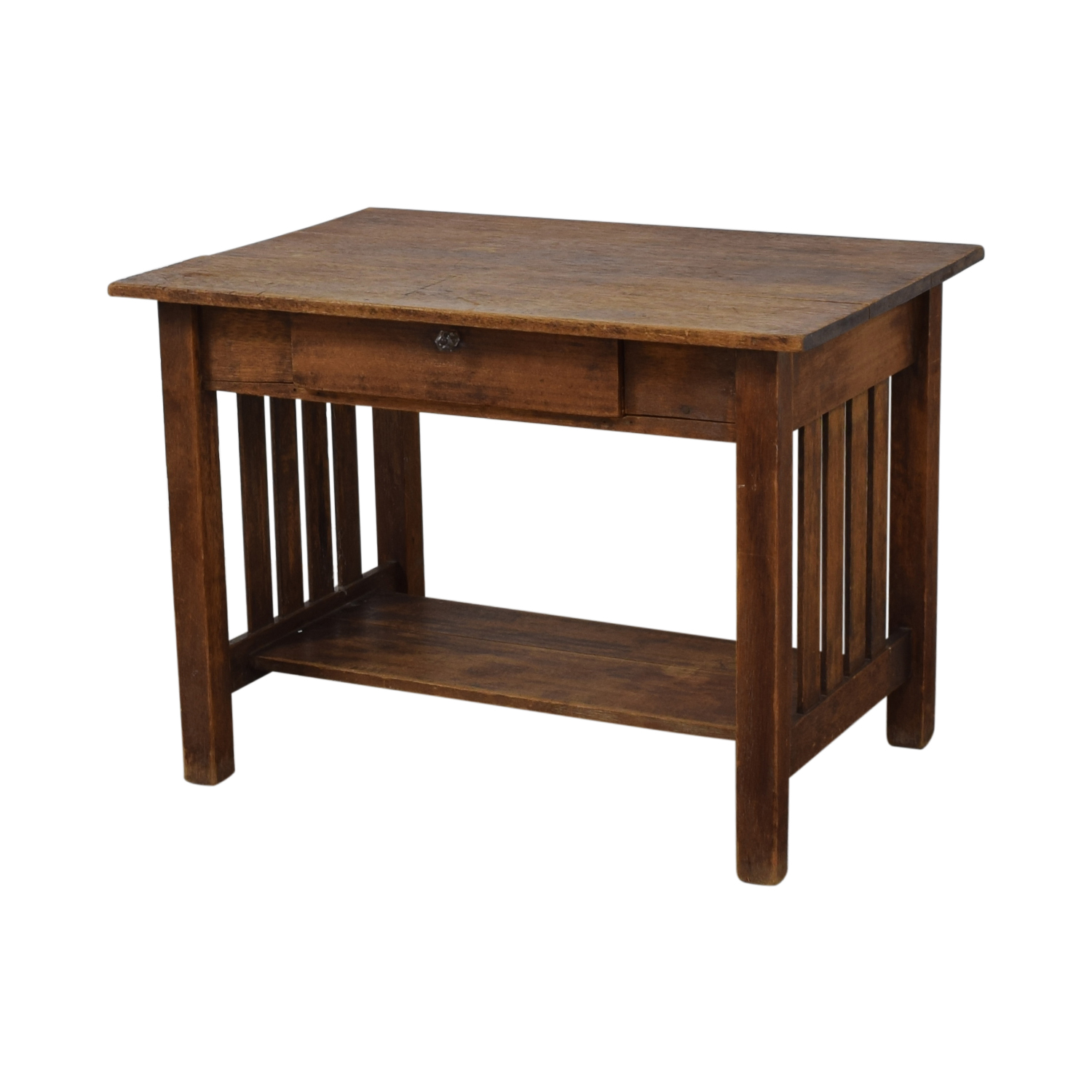 shop Mission Style Single Drawer Desk  Utility Tables