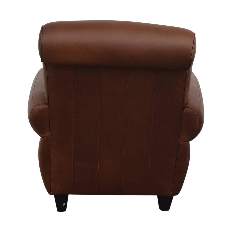 Ballard Designs Ballard Designs Paris Cognac Chair and Ottoman Accent Chairs