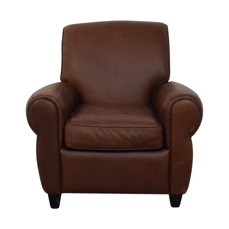 shop Ballard Designs Paris Cognac Chair and Ottoman Ballard Designs Chairs