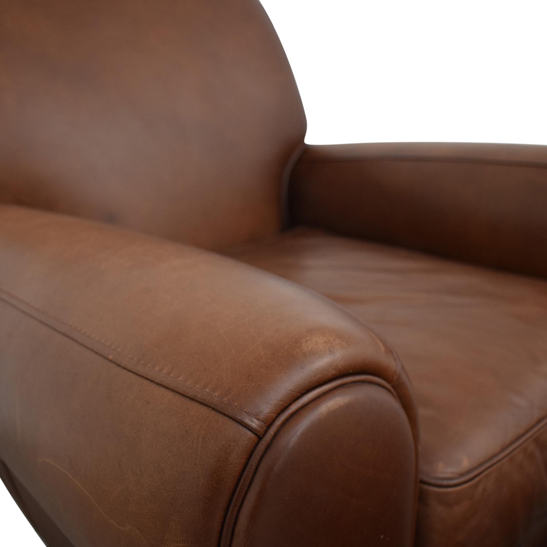 Ballard Designs Ballard Designs Paris Cognac Chair and Ottoman tan