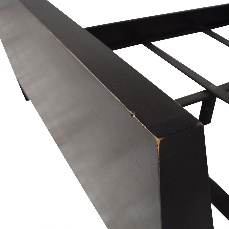 Mahogany Queen Bed Frame dark brown