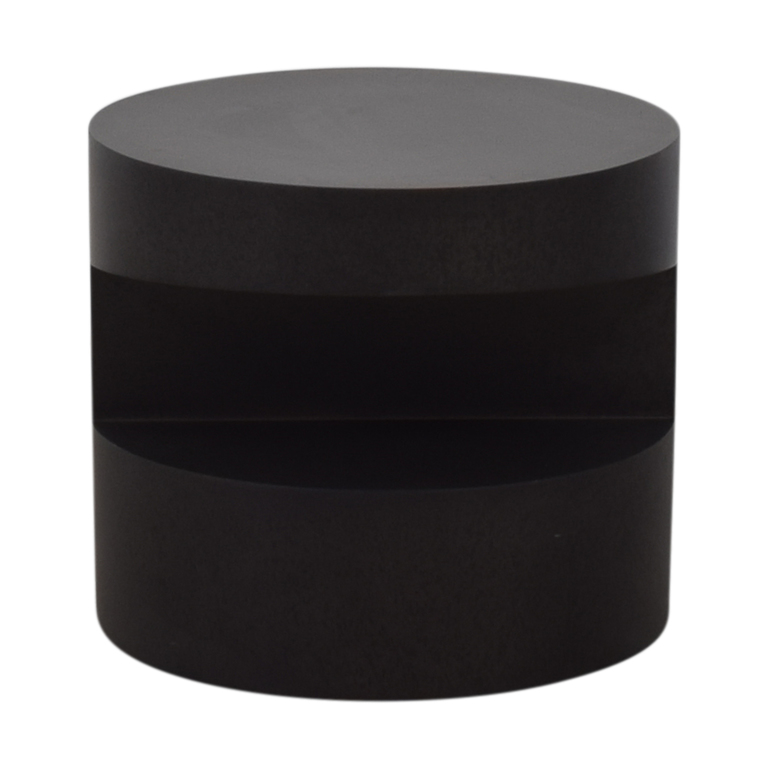 Room & Board Room & Board Lync Natural Steel Round End Table for sale