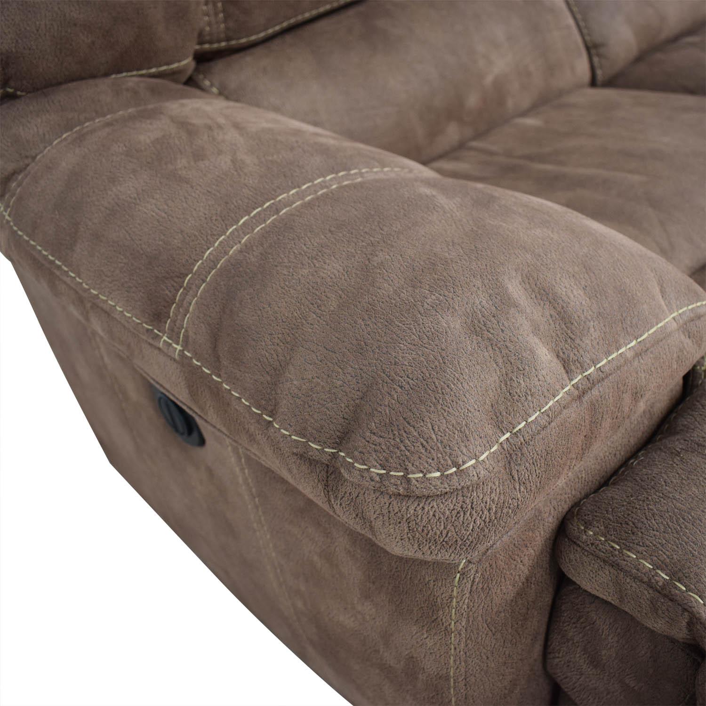 Macy's Macy's Three- Seater Power Reclining Sofa discount