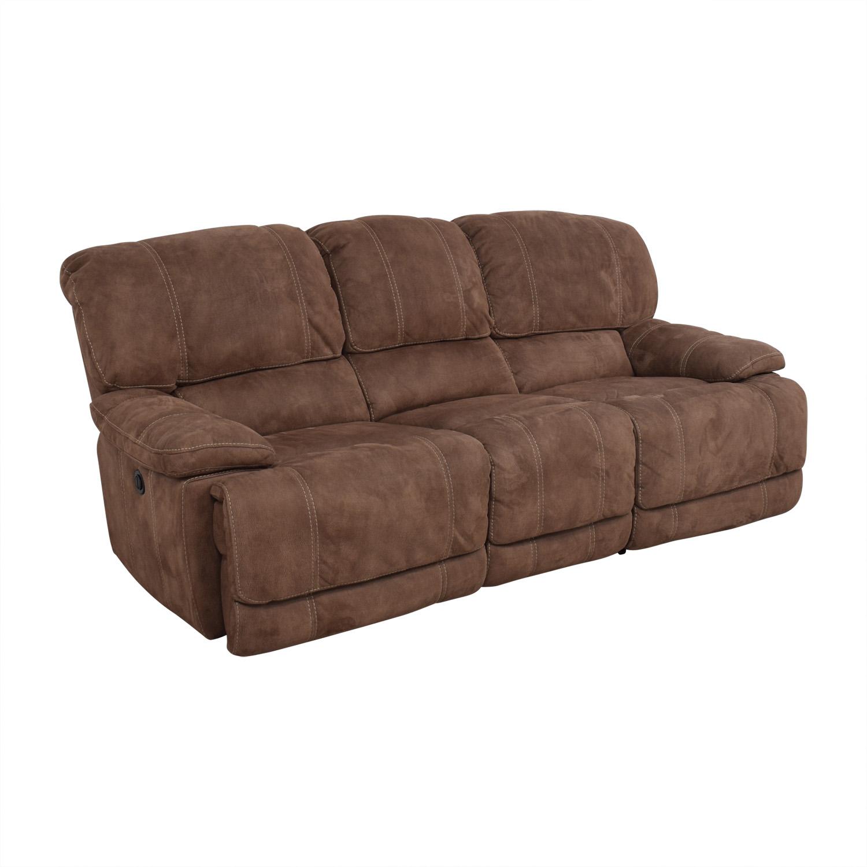 Macys Reclining Sofa