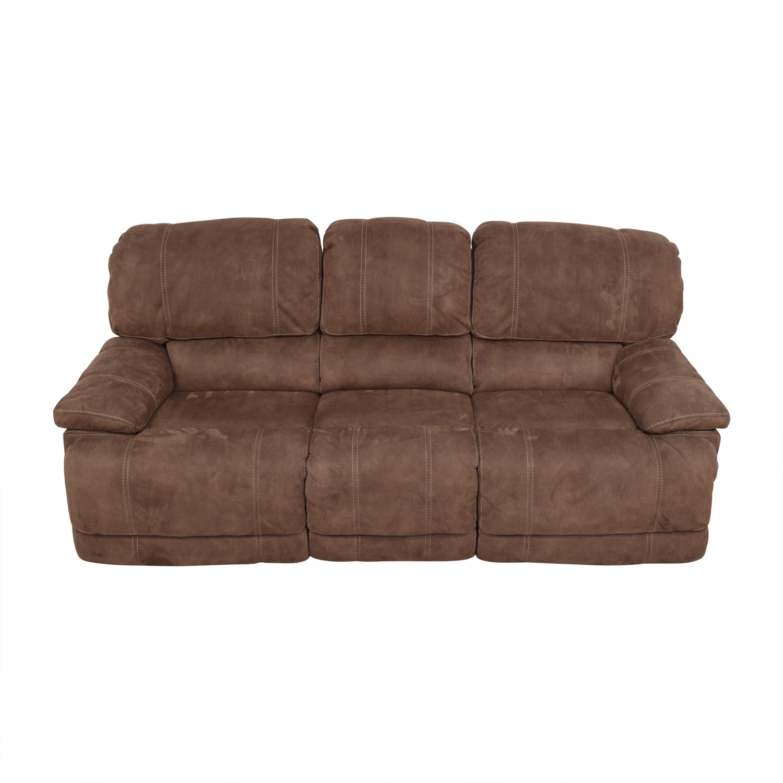 buy Macy's Three- Seater Power Reclining Sofa Macy's Classic Sofas