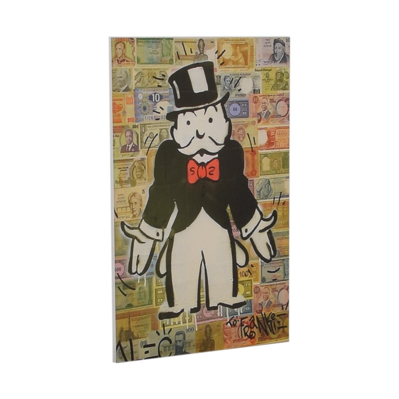 shop Monopoly Print  Decorative Accents