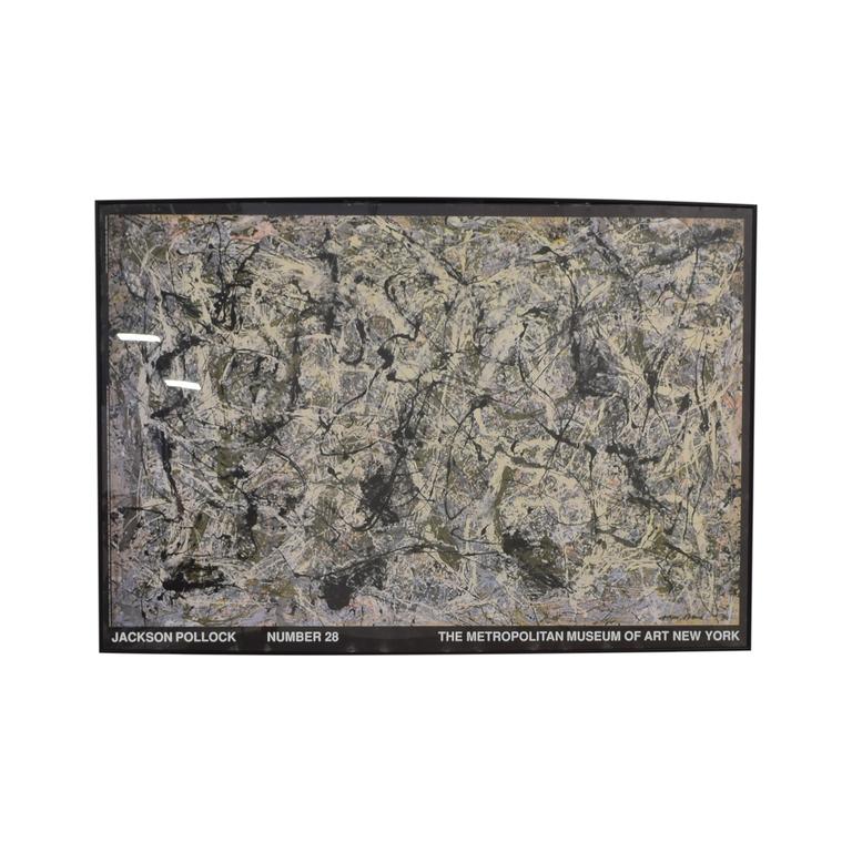 Jackson Pollock Print used