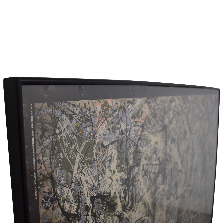 Jackson Pollock Print nj