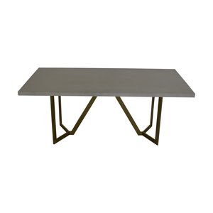 buy West Elm Tower Dining Table West Elm