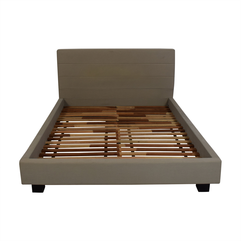 CB2 CB2 Queen Bed Frame Bed Frames