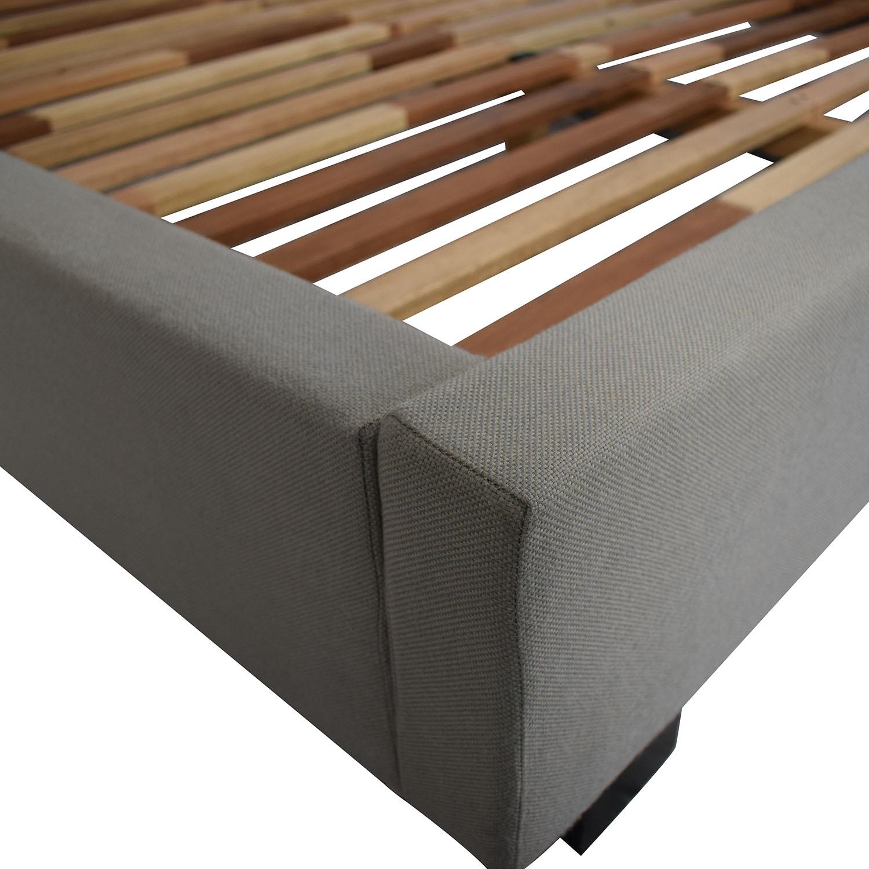 shop CB2 Queen Bed Frame CB2 Bed Frames