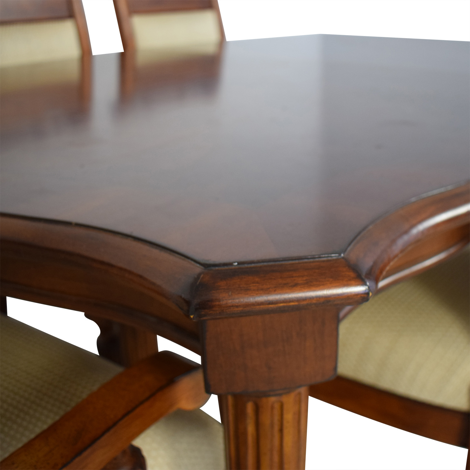 shop Vintage Upholstered Dining Set  Tables