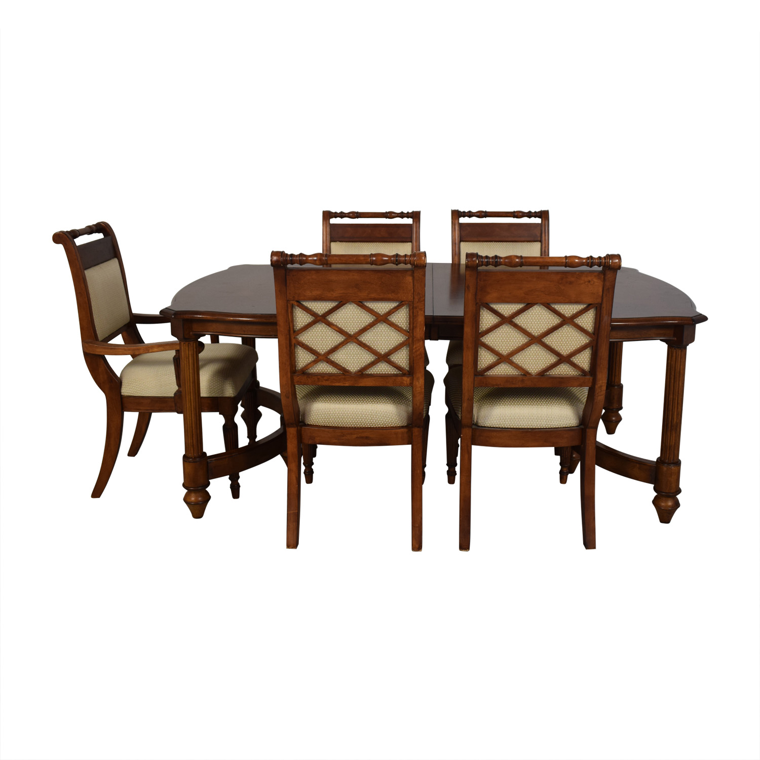 buy  Vintage Upholstered Dining Set online
