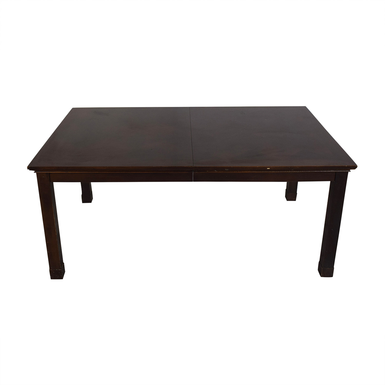 Macy's Macy's Extendable Dining Table Dark brown