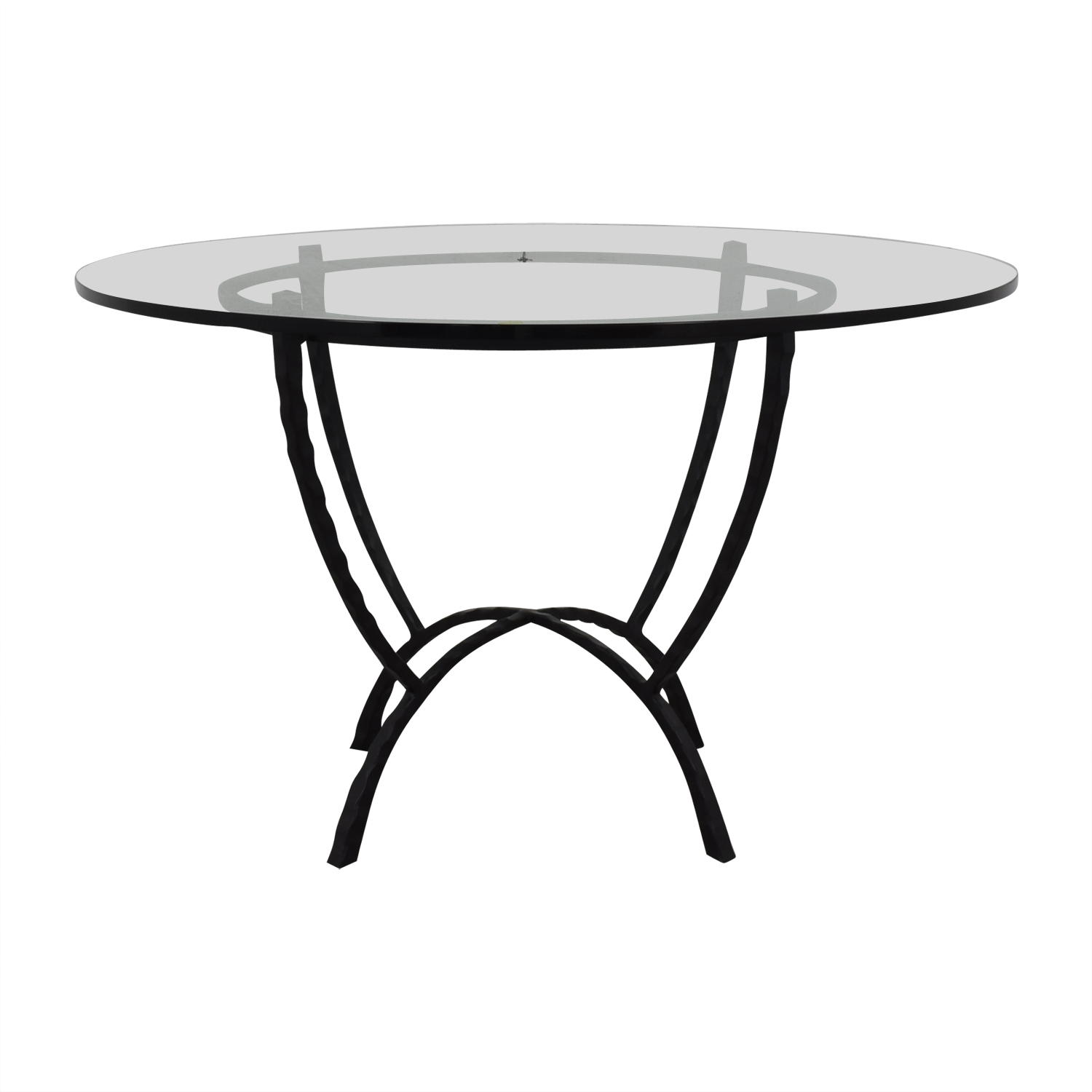 Stickley Furniture Stickley Furniture Round Glass Top Table coupon