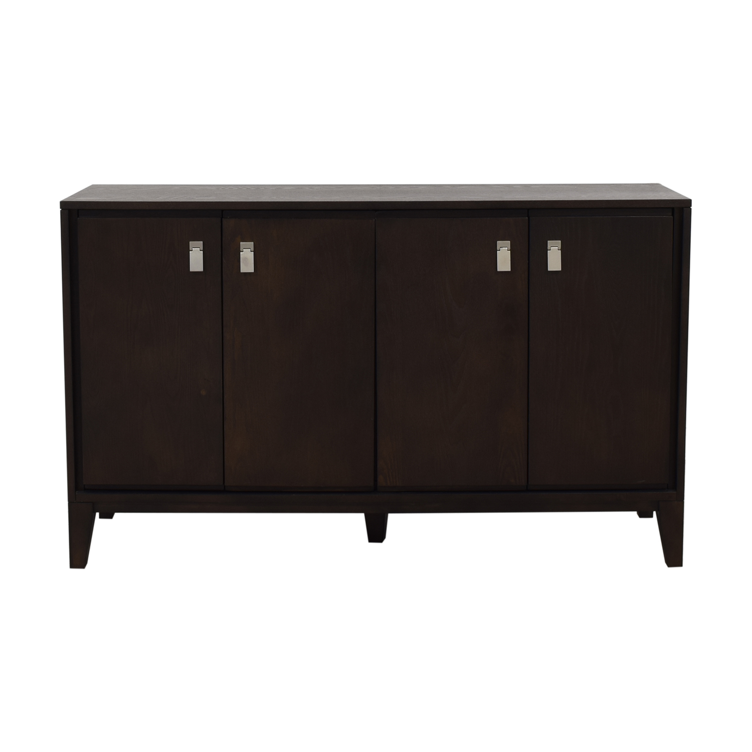 West Elm West Elm Wood Media Console second hand