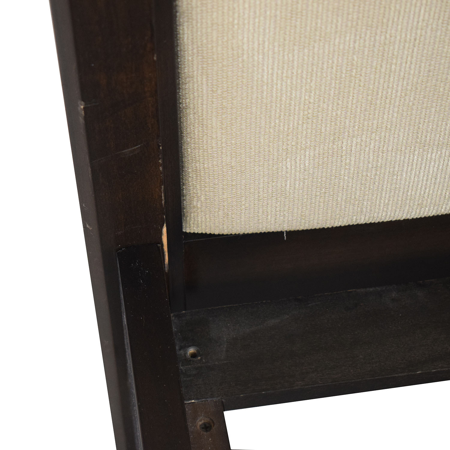 Crate & Barrel Crate & Barrel Wood and Fabric Queen Bed coupon