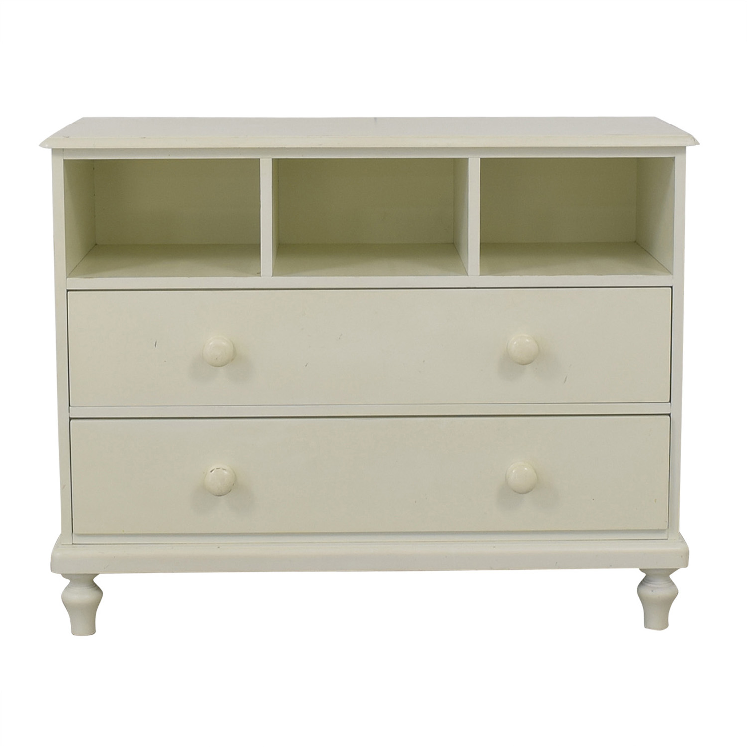 shop Pottery Barn Antique White Berkeley Two-Drawer Dresser Pottery Barn Storage