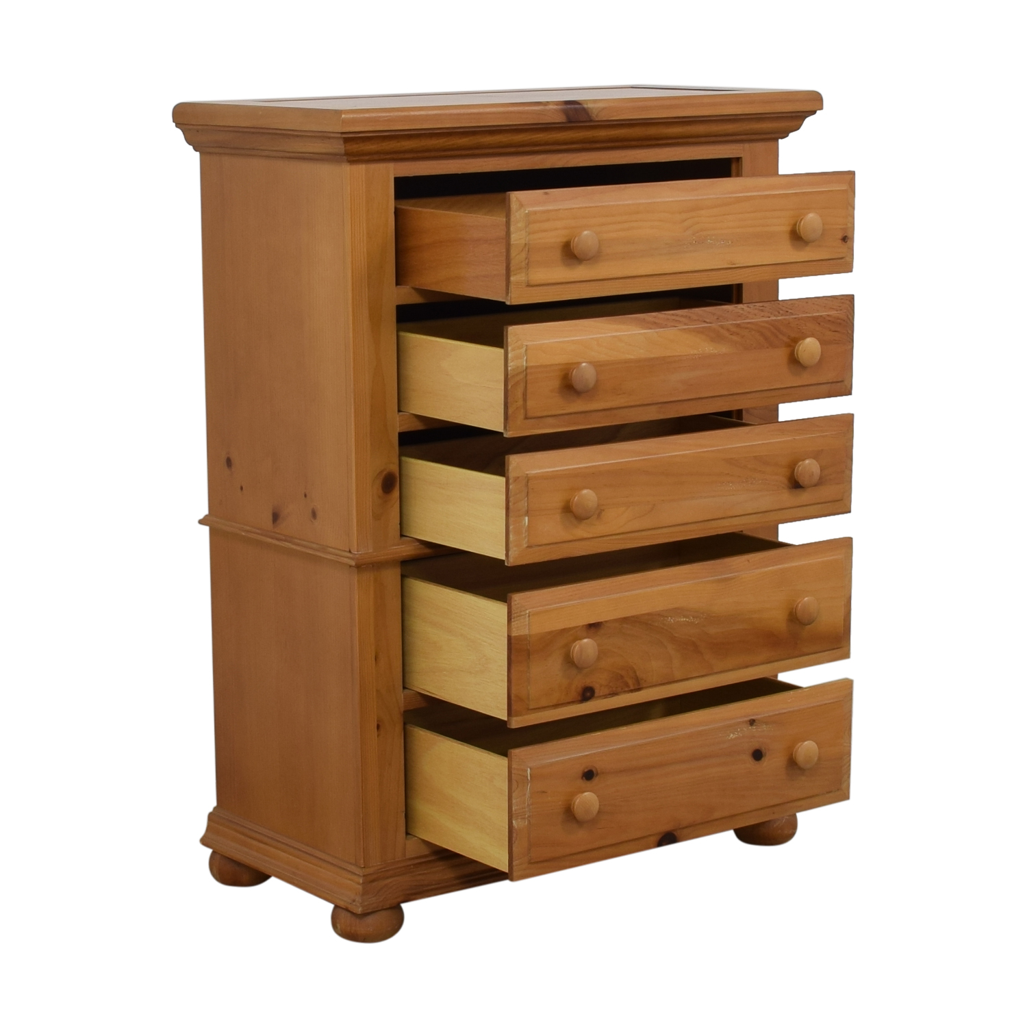 54% OFF - Broyhill Furniture Broyhill Furniture Five-Drawer Tall Chest of  Drawers / Storage