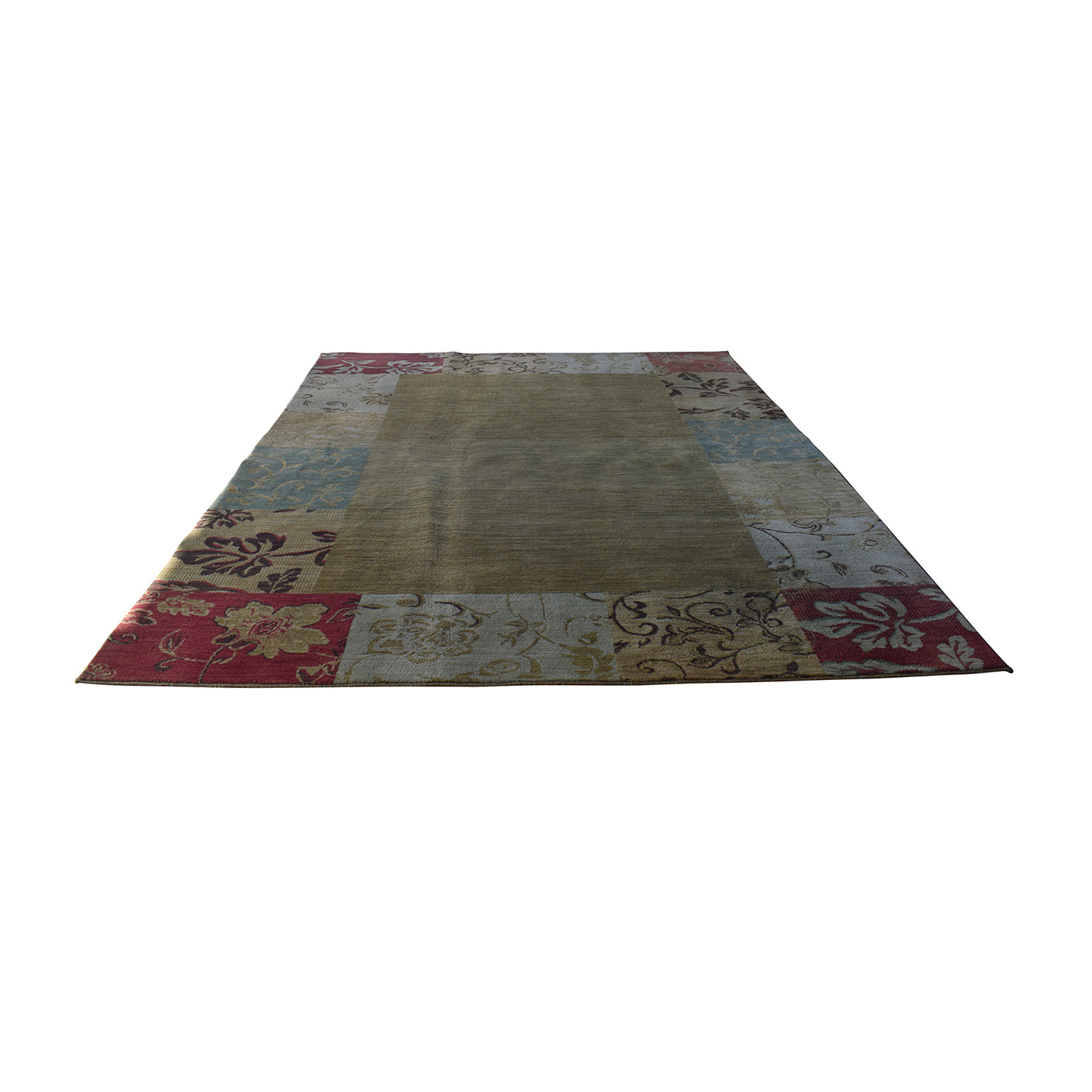 Multi-Colored Floral Rug discount