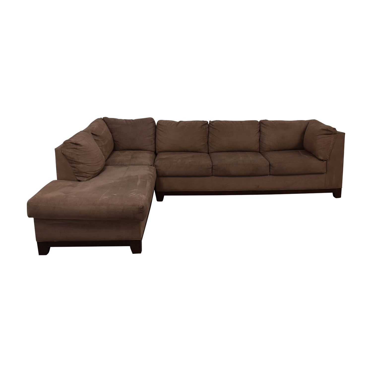 Door Store Door Store Beige Chaise Sectional beige