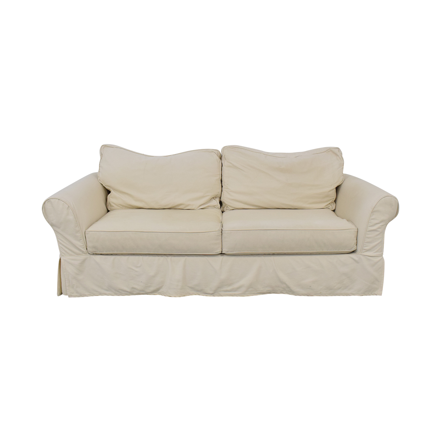 Pottery Barn Comfort Roll Arm Slipcovered Sofa Sofas