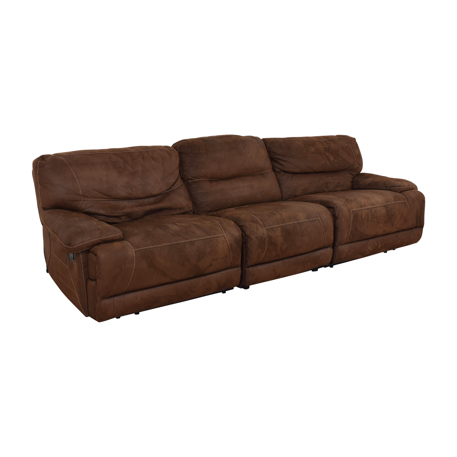 Bob's Discount Furniture Bob's Discount Furniture Reclining Sectional second hand