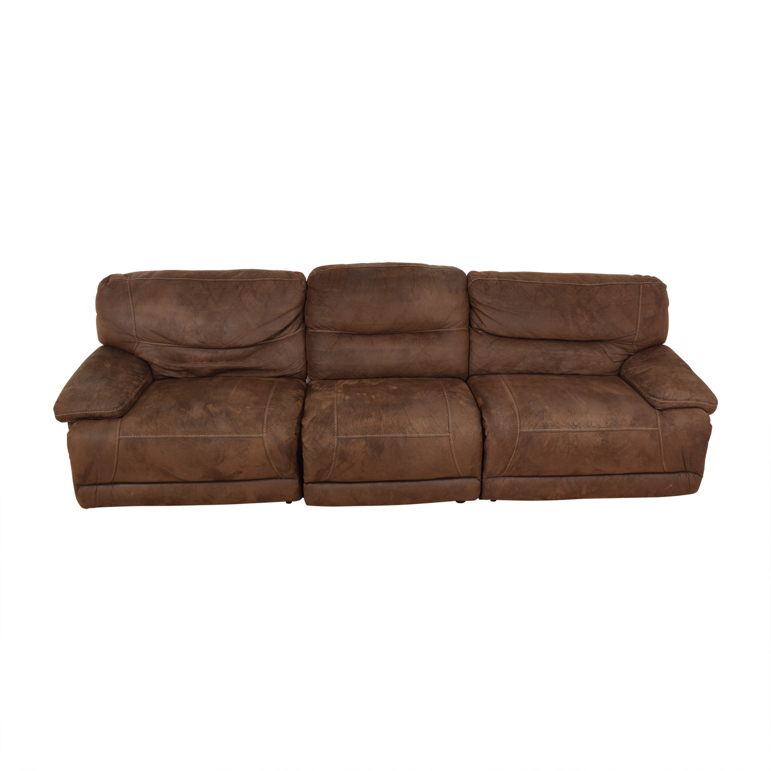 Bob's Discount Furniture Bob's Discount Furniture Reclining Sectional for sale
