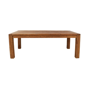 Antique Balinese Wood Dining Table
