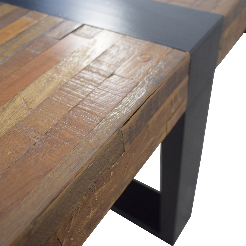 Crate & Barrel Crate & Barrel Seguro Rectangular Coffee Table nj