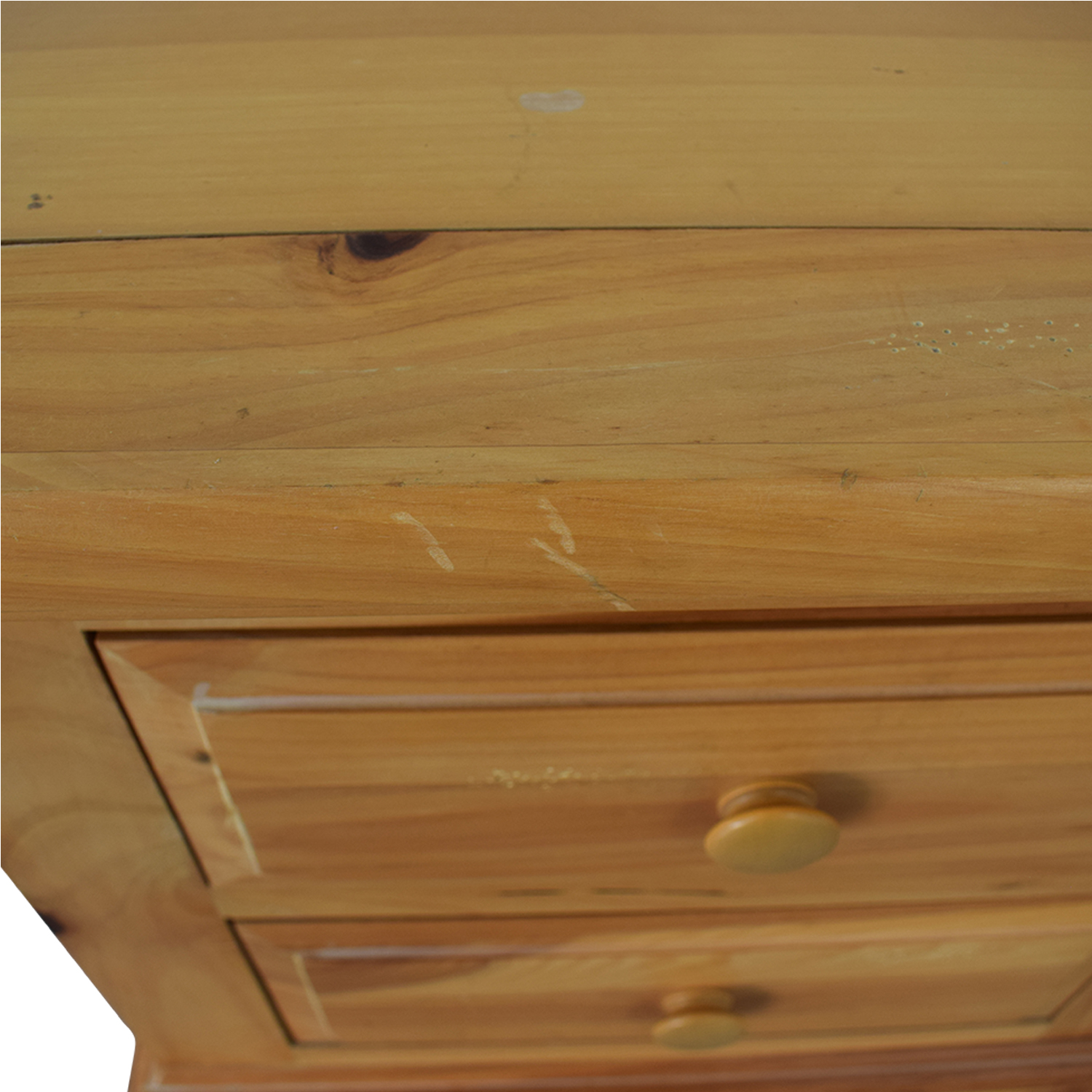 buy Broyhill Furniture Natural Two-Drawer End Table Broyhill Furniture Tables