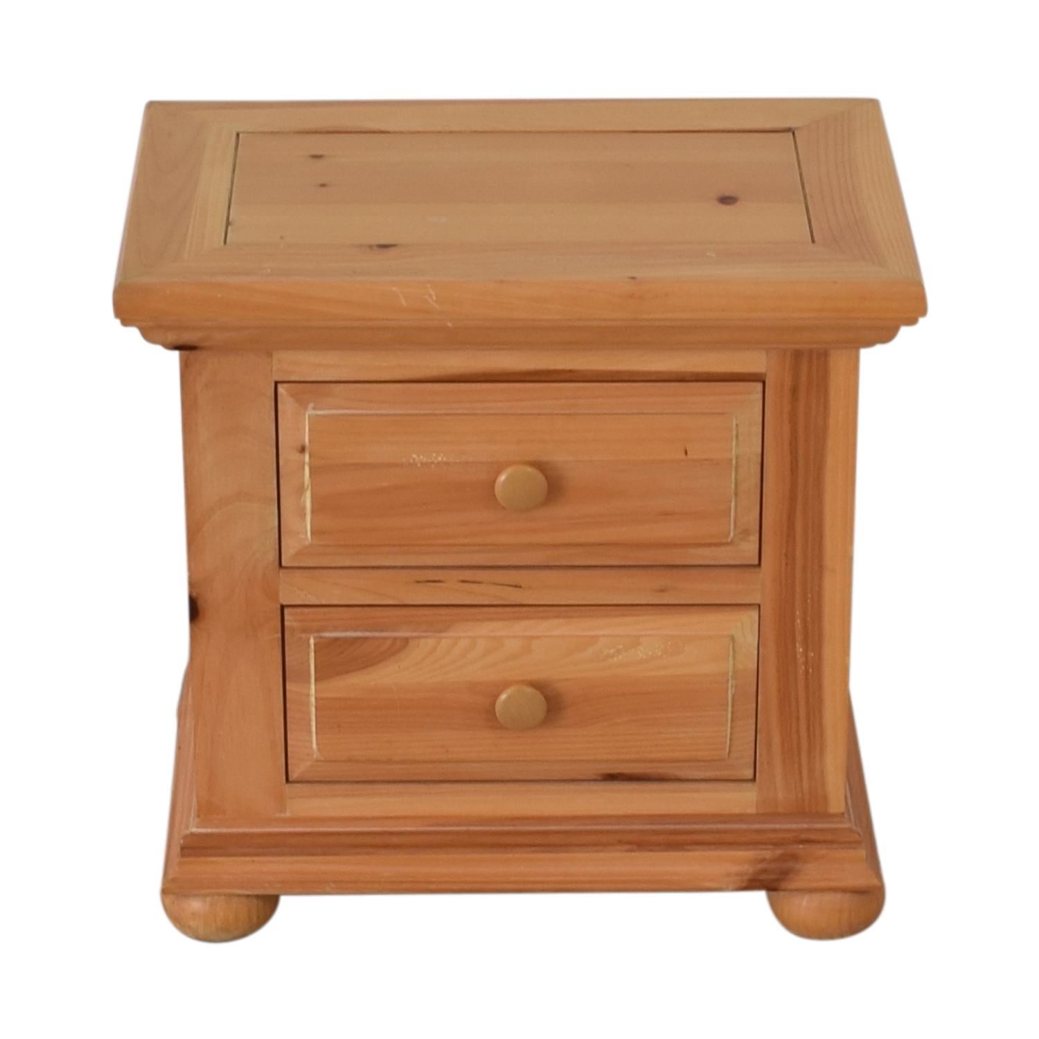 90 Off Broyhill Furniture Broyhill Furniture Natural Two Drawer End Table Tables