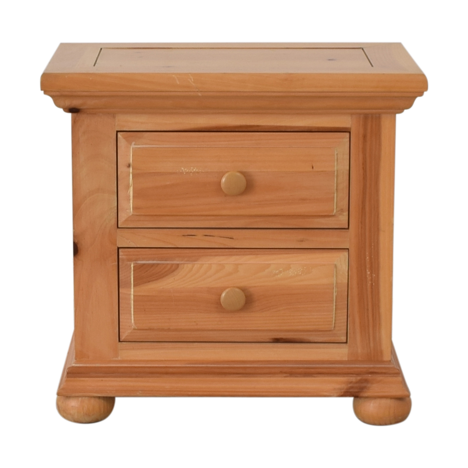 Broyhill Furniture Broyhill Furniture Natural Two-Drawer End Table Tables