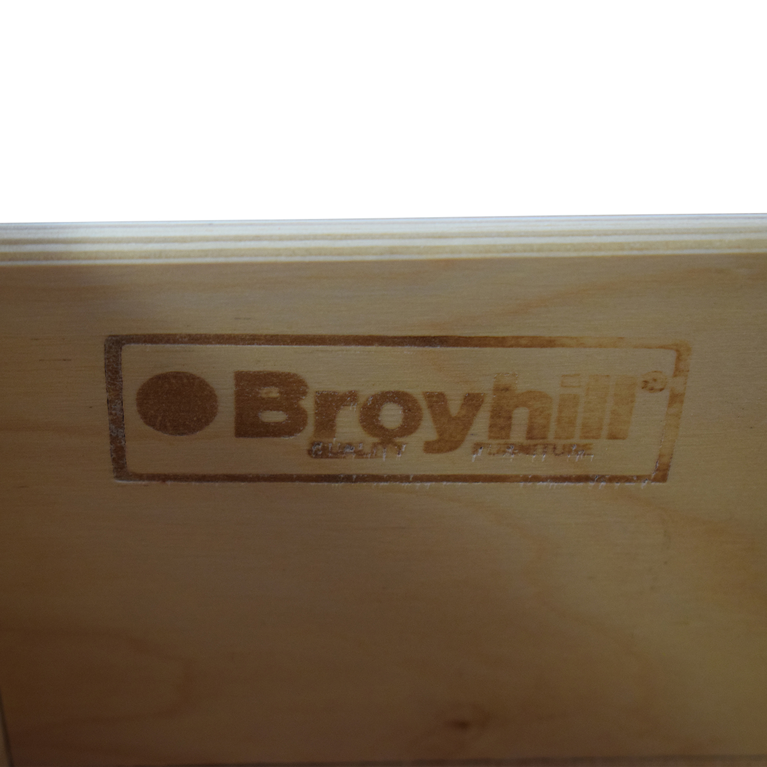 Broyhill Furniture Broyhill Furniture Natural Two-Drawer End Table