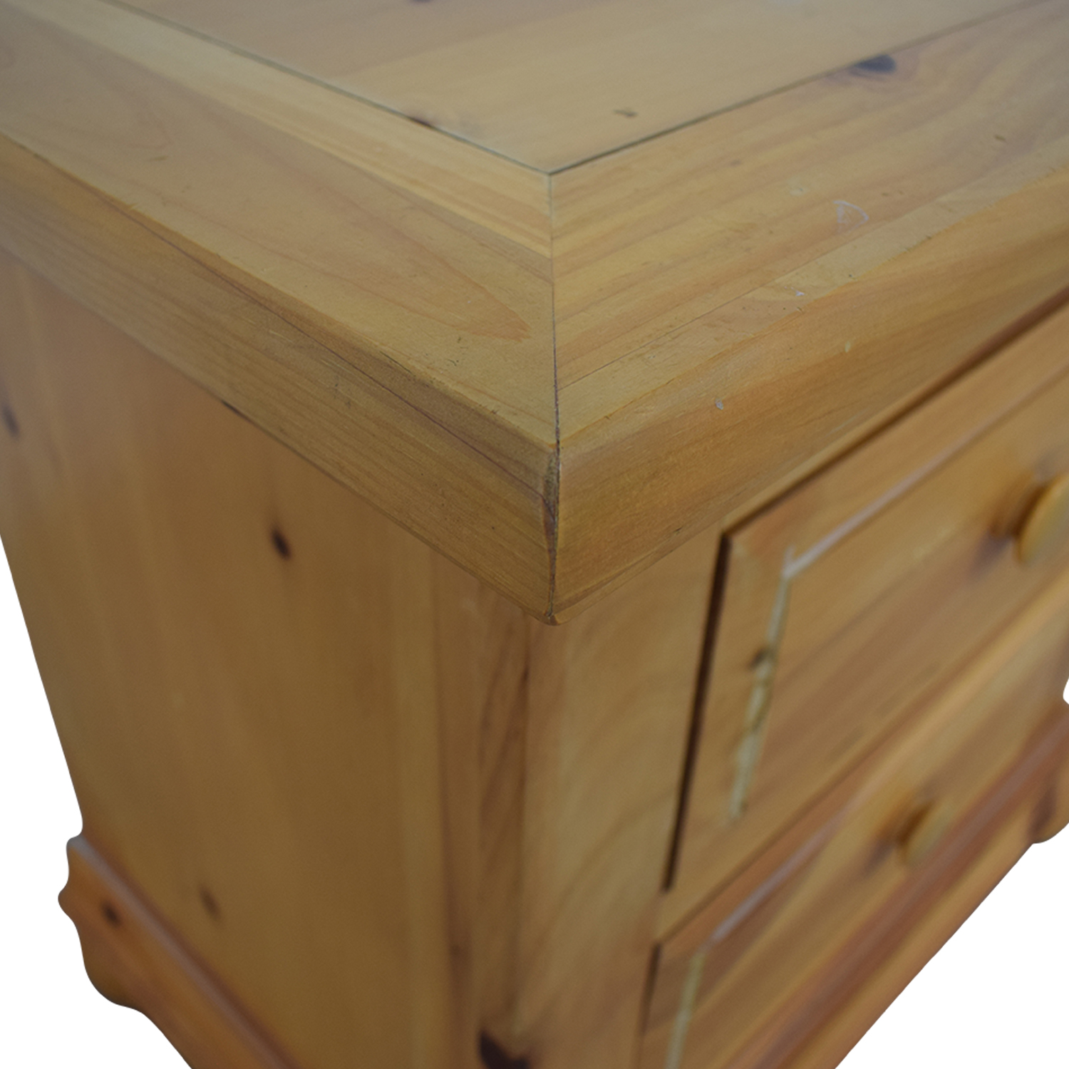 Broyhill Furniture Broyhill Furniture Natural Two-Drawer End Table End Tables