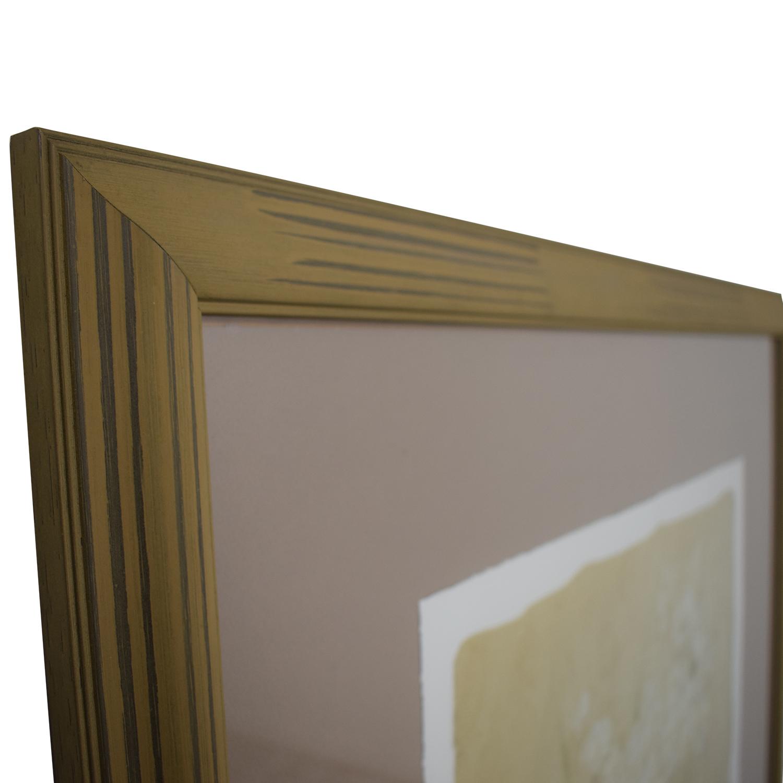 Rumrunner Home Floral Print Framed Photo / Decor