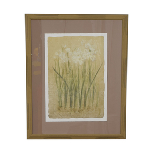 Rumrunner Home Rumrunner Home Floral Print Framed Photo for sale
