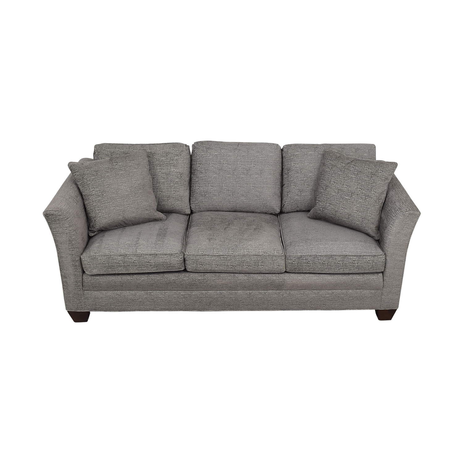 Stickley Furniture Stickley Furniture Grey Three-Cushion Couch used