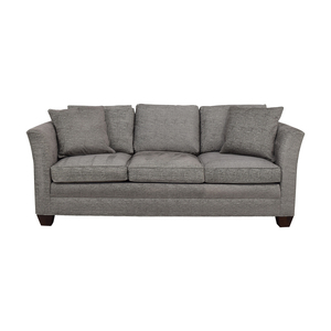 Stickley Furniture Stickley Furniture Grey Three-Cushion Couch price